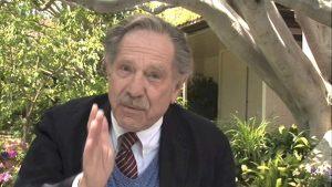 George Segal interviewed by Cass Warner