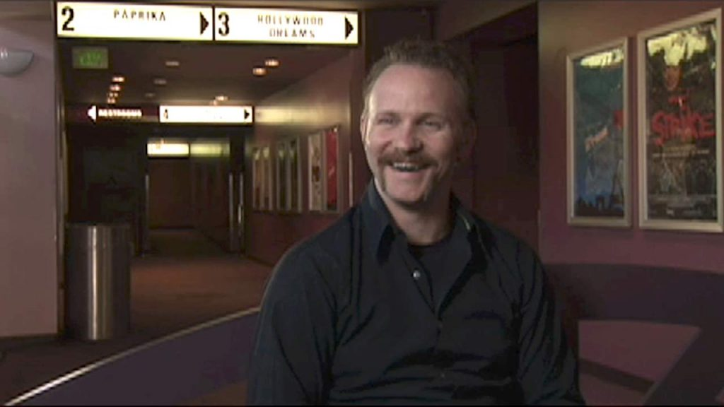Morgan Spurlock interviewed by Cass Warner